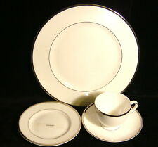 """Wedgwood China """"Sterling"""" - 4 Pc - Dinner / Bread / Cup / Saucer"""