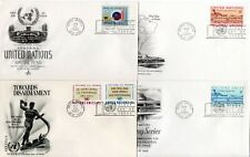 United Nations New York x 22 First Day Covers 1950s/1960s See SIX Scans