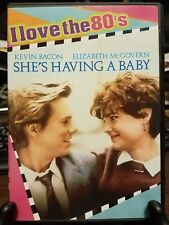 Pre-owned ~ Shes Having a Baby (DVD, 2008, I Love the 80s Edition Widescreen)