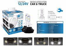 2er Pack Bosma LED Auto-Glühlampen H7 12/24V Umrüstung 4000lm 6000K wie Xenon E8