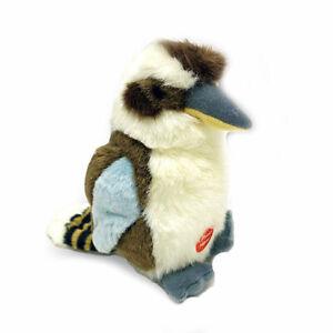"""Kookaburra Bird stuffed animal with sound 7""""/18cm soft toy Wild Republic NEW"""