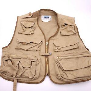 Vintage Stansport Fly Fishing Vest Size XL