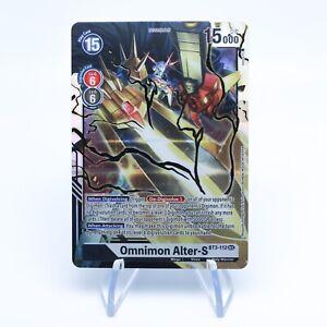 Omnimon Alter-S BT3-112 SEC Digimon Card Game Booster NM