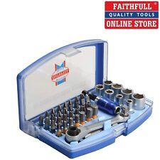 outils ba 42pc embout tournevis à cliquet set fente phillips pozi torx hex f.u.m
