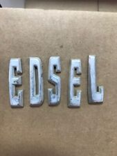 New ListingEdsel Letters for a 1958 pacer or ranger