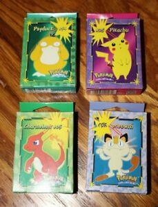 Rare Pokemon Hasbro Milton Bradley 1999 Nintendo 4 50 Piece Mini Puzzle pikachu