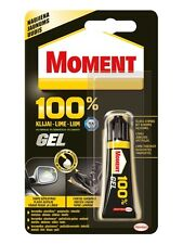 MOMENT Universal Super Glue 100% Gel Waterproof Extra Strong Instant Adhesive 8g