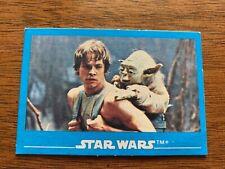 Star Wars trading card sticker Kelloggs 1984 #6 rare mint condition