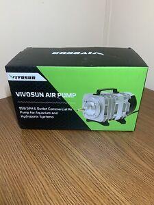 Air Pump 950 GPH 32W 60L/min 6 Outlet Commercial for Aquarium Hydroponic Systems