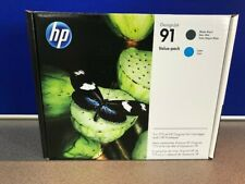 HP 91 Printhead & Ink Value Pack - P2V35A - New Original Sealed Expiry Feb 2019