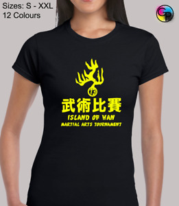 Island Of Han Martial Arts Martial Arts Novelty Fitted T-Shirt for Women