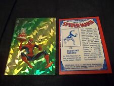 1992 Comic Images Spiderman Prizm Inserts (you choose 1 for 2.99)