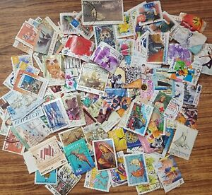Bulk lot clearance 100+ Australian Decimal Postage Stamps off paper mixed #102