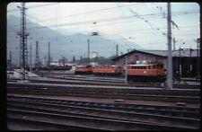 35mm slide ÖBB Österreichische Bundesbahnen depot Innsbruck Austria 1979original