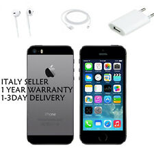 APPLE IPHONE 5S 16 GB SPACE GRAY NERO NUOVO SIGILLATO ORIGINALE GARANZIA ITALIA