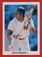 1990 Leaf #359 Deion Sanders ROOKIE RC PACK FRESH MINT+ Atlanta Braves FREE S/H