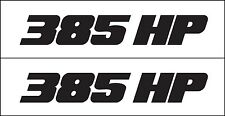 385 High Performance Decal / Graphic By Metro Auto Graphics Fits GM Dodge Ford