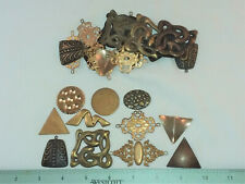& Crafting- Made In Usa 30 Brass Shapes, Assorted- For Jewelry