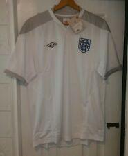 England Umbro Blanco Camisa De Entrenamiento 2010/2011 Temporada. tamaño Grande. nuevo Y En Caja
