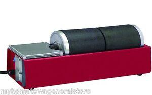 Dual Drum Rotary Rock Stone Metal Glass Tumbler Polisher - 6 lb in stock