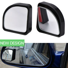 Black Auto Car Exterior Blind Spot Side Mirror Wide Angle Sector Adjust Mirrors