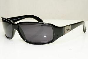 Authentic DOLCE & GABBANA Womens Vintage Sunglasses Black D&G 2075 338 31407