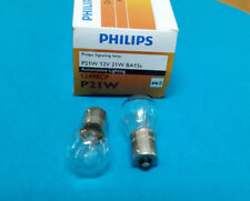 2pcs PHILIPS 12498 P21W 12V 21W BA15s S25 signaling lamp automotive lighting