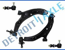 New 4pc Kit: Front Lower Control Arm and Ball Joint Assembly w/ Sway Bar Links