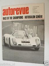 AUTOREVUE 1968-06,VIVA GT,SAN REMO RALLYE,RACE CHAMPIONS,RENAULT 16TS,DAF,GENEVE