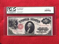 FR-39  1917 Series $1 United States Legal Tender Note *PCGS 35 PPQ Choice VF*