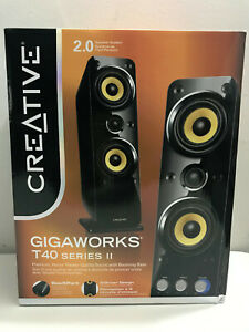 Creative GigaWorks T40 Series II 2.0 Multimedia Speaker System wit BasXPort Tech