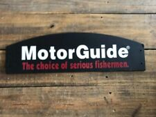 "Motorguide Fishing Retail Display Signage ""The Choice Of Serious Fishermen"""