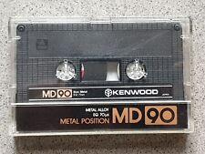 KENWOOD MD 90 METAL POSITION  Audiocassette 90 Min Kassette Cassette Tape