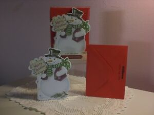 Carol's Rose Garden - Christmas Boxed Cds - A Happy Snowman