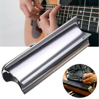 Stainless Steel Slide Dobro Tone Bar For Six-String Hawaiian Electric Guitar
