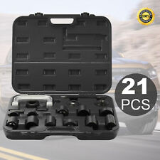21Pieces Auto Repair Service Remover Ball Joint Service Tool Master Adapter Kit