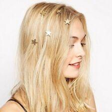 5 STÜCKE Stilvolle Gold Sterne Coil Frühling Clip Haarnadel Haarschmuck für Frau