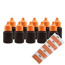 Liquid Flaschen 10 x 20ml - Kunststoffflaschen aus HDPE