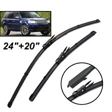 Pair Windscreen Wiper Blades Front Window Fit For Land Rover Freelander 2 06-