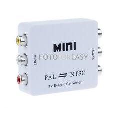 PAL/NTSC/SECAM to PAL/NTSC Mini Bi-directional TV Video Format System Converter