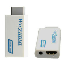 Premium Wii To HDMI Converter Adapter 3.5mm Audio Video Output Full HD 1080P