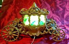 Antique Art Deco Parlor Lamp: Rare Coach/Carriage.  Possible Coronation lamp?