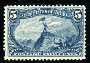 USAstamps Unused FVF US 1898 Trans-Mississippi Fremont Scott 288 OG MNH