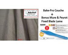 "Bake-Pro Baker Couche, EU Cert, 35""x26"" Bread Couche, + Bonus Mure & Peyrot Lame"