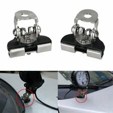 304 Stainless Steel 2pcs Car Clamp Mount Bracket Holder Offroad Led Work Light