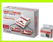 Nintendo Classic Mini + AC adapter set Family famicom Japan Game console Game