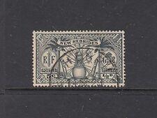 NEW HEBRIDES, BRTISH CURRENCY: 1925 Wmk MSCA definitive ½d SG 43 £21, fine used