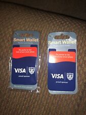 Comes With Two Silicone Wallet Case ID Credit Card Holder 3M Sticky for Phone