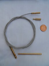 rifle cleaning cable for .17ca and larger