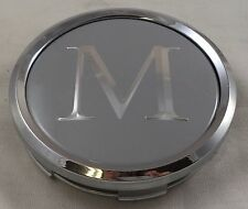 Mandrus Wheels Silver / Chrome Custom Wheel Center Cap Caps # C-366-1